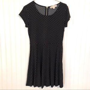 MICHAEL KORS Black & White Polka Dot Dress